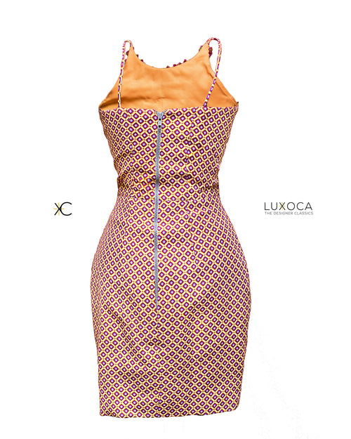 Duaba Serwaa Asymmetrical Dress