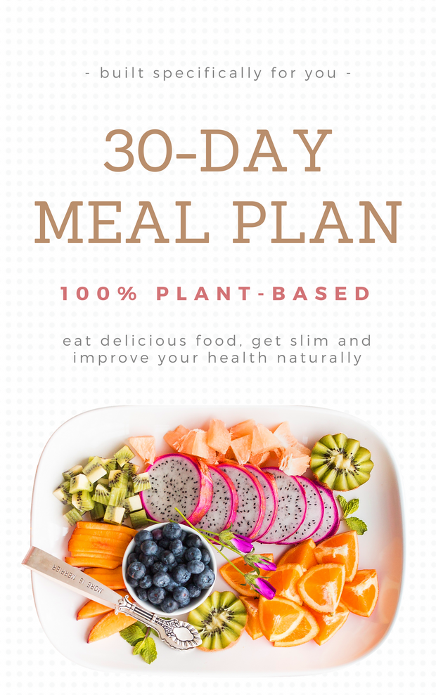 30-Day Customised Weight Loss Meal Plan