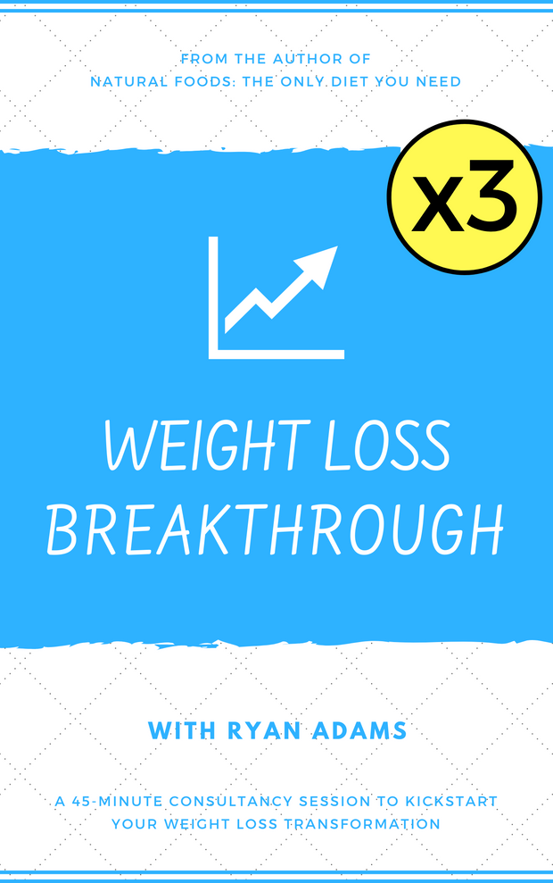 3 x Monthly Weight Loss Breakthrough Consultancy Sessions