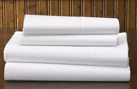 Flat Sheet-  White-60% Cotton 40% Polyester