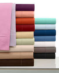 Bed Sheet Set - 100% cotton- Solid Satin