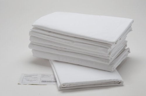 Bed Sheet Set - WHITE - 60% Cotton 40% Polyester