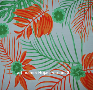 Print - Pima Cotton, Polyester mix