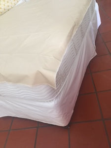 Mattress Protector -Institutional fabric, anchor bands