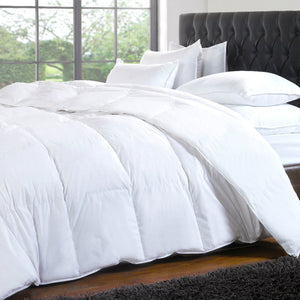 Duvet Cover- White-60% Cotton 40% Polyester