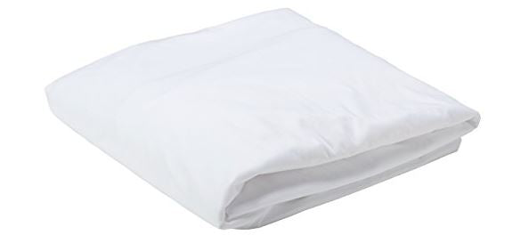 Mattress Protector- water proof, fitted, white, fully elasticized