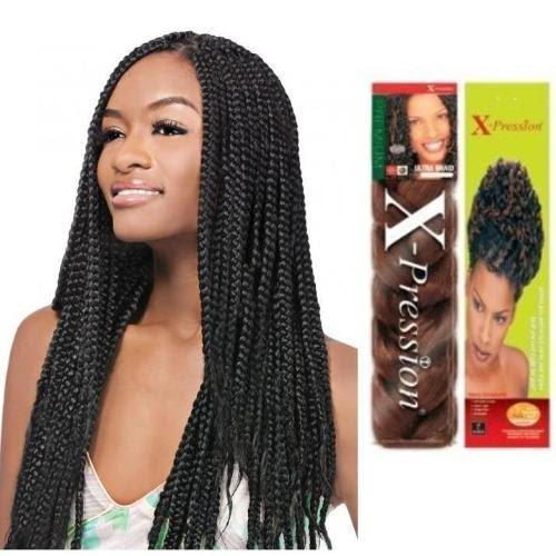 2 FOR $12 X-Pression Premium Ultra Braiding Hair - 82 in