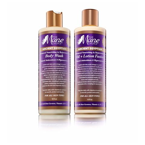 Ancient Egyptian Body Wash & Oil + Lotion Fusion SET