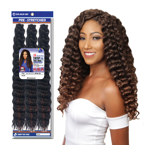 Deep Twist 3X Braid- 1B/27
