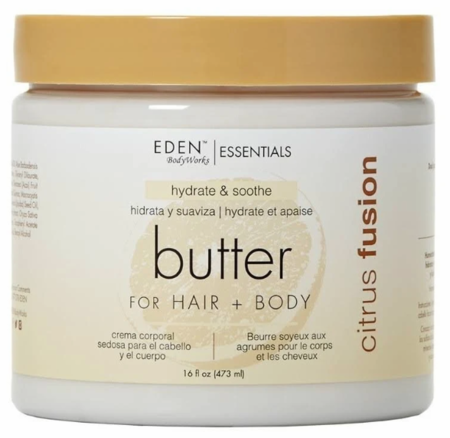 EDEN BodyWorks Citrus Fusion Hair + Body Butter - 16 oz
