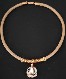 "Exquisite! - Mahogany River 16"" Necklace"