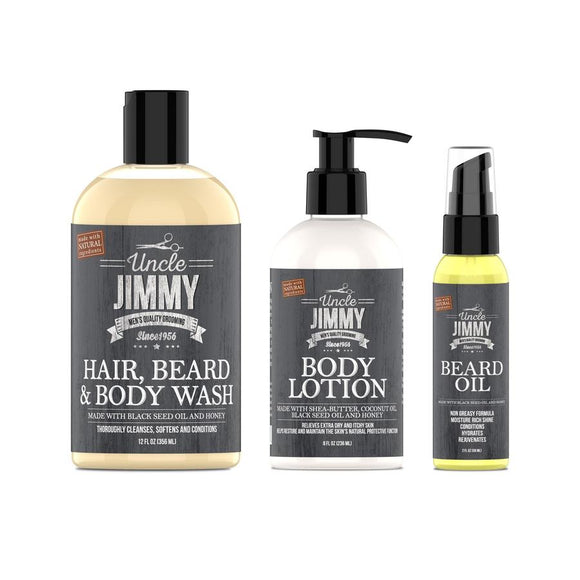 Beard & Body Care Set
