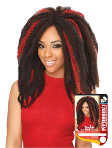 Caribbean Twist Braid - 12 in (Black)