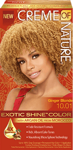 CREME of NATURE-Exotic Shine Color - GINGER BLONDE