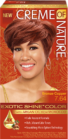 CREME of NATURE-Exotic Shine Color - BRONZE COPPER