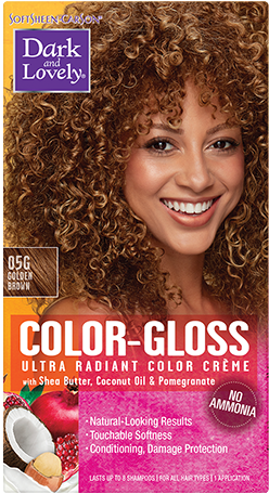 Dark and Lovely- Color -Gloss-GOLDEN BROWN