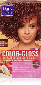 Dark and Lovely- Color -Gloss-MEDIUM RED BROWN