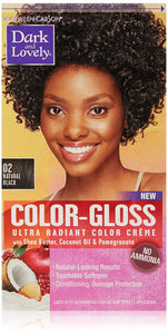 Dark and Lovely- Color -Gloss-NATURAL BLACK