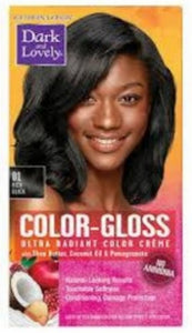 Dark and Lovely- Color -Gloss-RICH BLACK