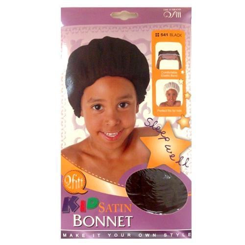 Kids Bonnet - Black
