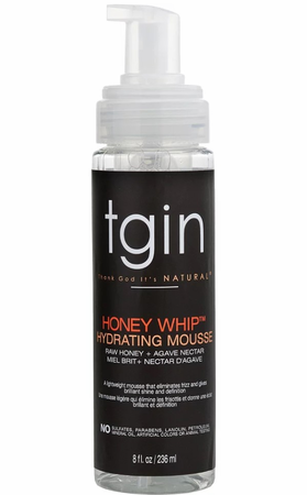 TGIN Honey Whip Hydrating Mousse - 8 oz