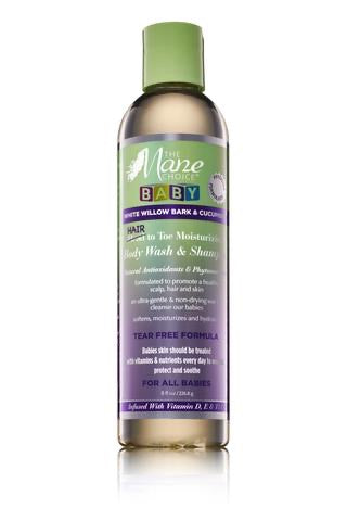 The Mane Choice White Willow Bark & Cucumber Baby Hair to Toe Wash & Shampoo - 8 oz