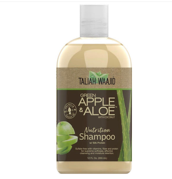Taliah Waajid Green Apple and Aloe Shampoo - 12 oz
