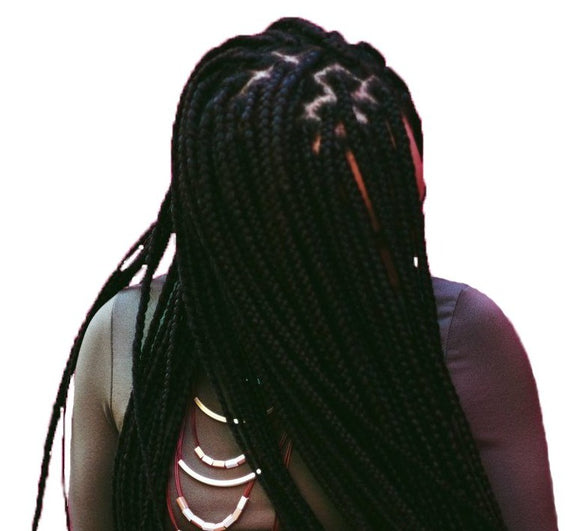 Modern Model Natural - Crochet Box Braid - 24 in