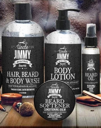 Deluxe Beard & Body Care Set
