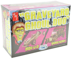 AMT Graveyard Ghoul Duo 1:25 Scale Plastic Model Car Kits 1017