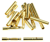 Apex RC Products 2.0mm Male / Female Gold Bullet Connectors Plugs - 10 Pair #1100