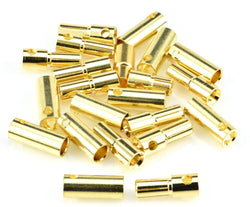 Apex RC Products 5.5mm Male / Female Gold Plated Bullet Connectors Plugs - 10 Pair #1106