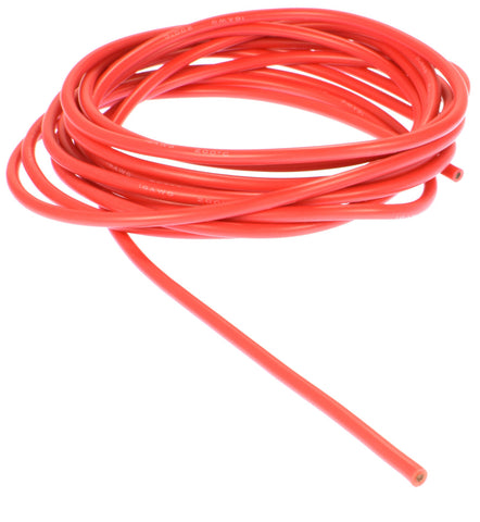 Apex RC Products 3m / 10' Red 16 Gauge AWG Super Flexible Silicone Wire #1160