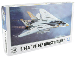 Premium Hobbies F-14A VF-142 Ghostriders 1:72 Plastic Model Airplane Kit 125V