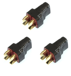 Apex RC Products No Wire Ultra T Plug (Deans Style) Parallel Adapter Connector Plug - 3 Pack #1276