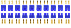 Apex RC Products Male/Female EC3 Battery Connector Plugs - 10 Pair #1525
