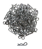 Apex RC Products 1/10 Large RC Galvanized Steel Body Clips - 100pcs #4027