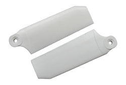 KBDD Pure White 45mm Extreme Tail Rotor Blades #4045