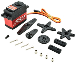 Apex RC Products 6600MG Metal Gear/Case Digital Standard Servo - 1/10-1/8 Steering Servo