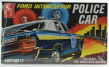 AMT 1970 Ford Galaxie Police Car 1:25 Plastic Model Car Kit 788