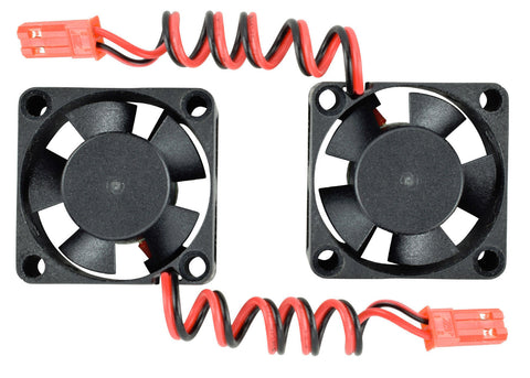 Apex RC Products 30x30x10mm Ball Bearing Motor/ESC Cooling Fan - 2 Pack #8030