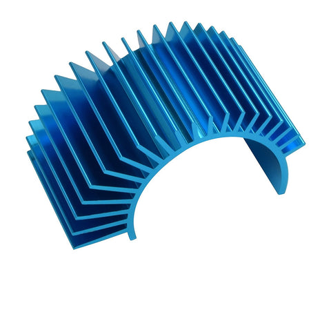 Apex RC Products Blue Aluminum 540 / 550 Electric Motor Heat Sink #8040
