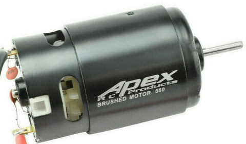 Apex RC Products 12T Turn 550 Brushed Electric Motor #9740