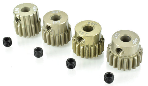 Apex RC Products 48 Pitch 16T 17T 18T 19T Aluminum Pinion