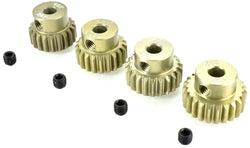 Apex RC Products 48 Pitch 20T 21T 22T 23T Aluminum Pinion Gear Set #9751