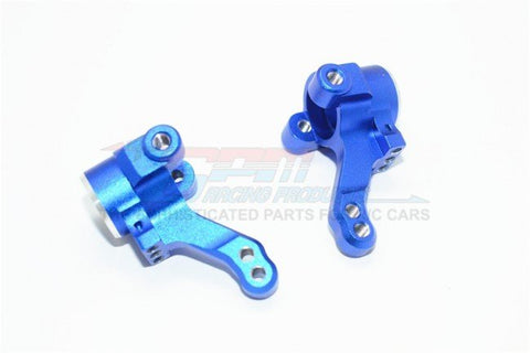 GPM Racing Traxxas 4-Tec 2.0 Blue Aluminum Front Knuckle Arm Set GT021-B