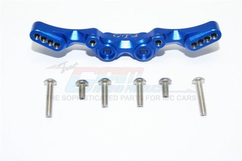 GPM Racing Traxxas 4-Tec 2.0 Blue Aluminum Rear Shock Tower GT030-B