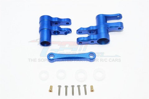 GPM Racing Traxxas 4-Tec 2.0 Blue Aluminum Steering Rack Assembly GT048-B