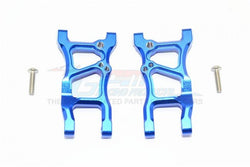 GPM Racing Traxxas 4-Tec 2.0 Blue Aluminum Rear Suspension Arm Set GT056-B