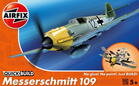 Airfix QUICK BUILD Messerschmitt Bf109e Plastic Model Kit J6001